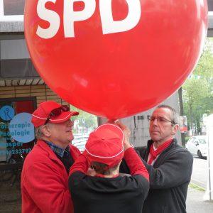Die SPD geht in die Luft :-)