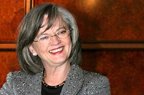 Oberbürgermeisterin Dr. Ottilie Scholz